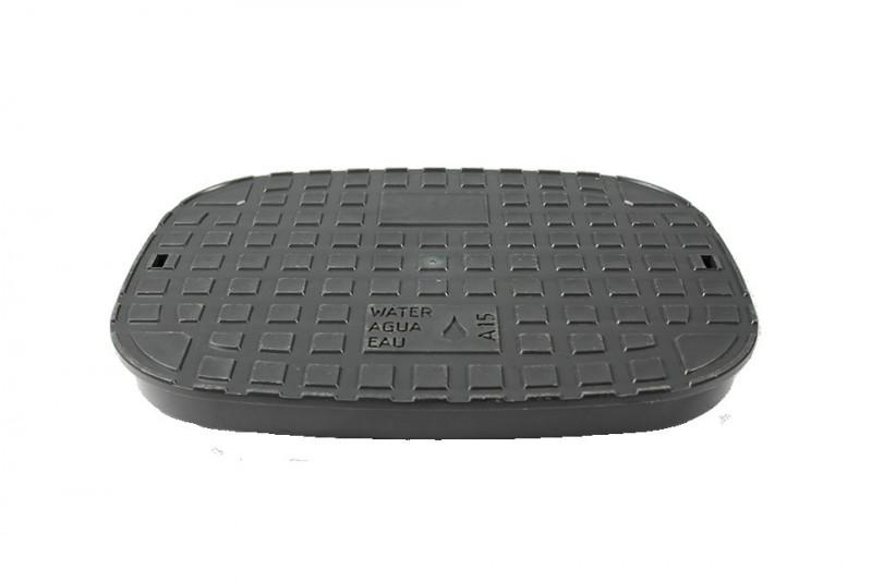 Plastic cover A15 for BEULCO water meter box - Platic cover round for BEULCO water meter box, load class A15 up to 1,5t