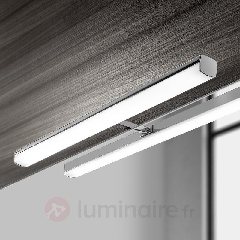 Applique pour miroir LED Ruth avec télécommande - Salle de bains et miroirs
