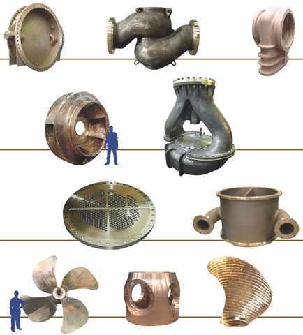 Sand castings INOXYDA - Sand castings of copper alloys from the company INOXYDA