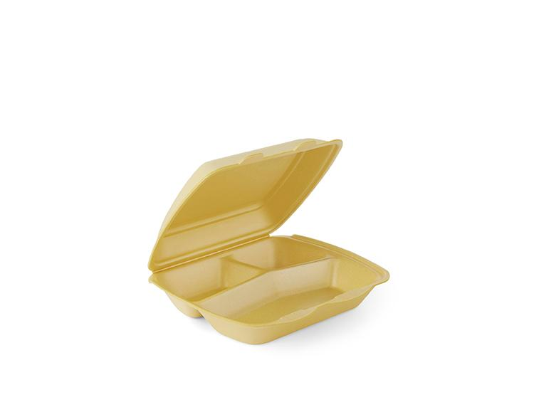 IP4, non-laminated, 3-comp - Food boxes