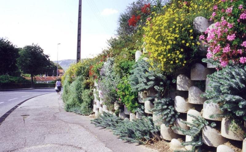 Murs de soutènement végétalisés
