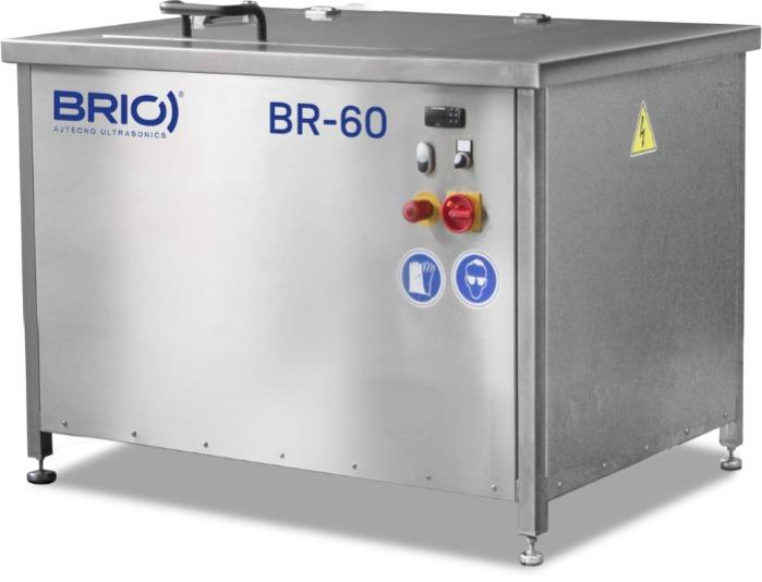 BR-60  - Máquina de limpieza por ultrasonidos manual de 60 L