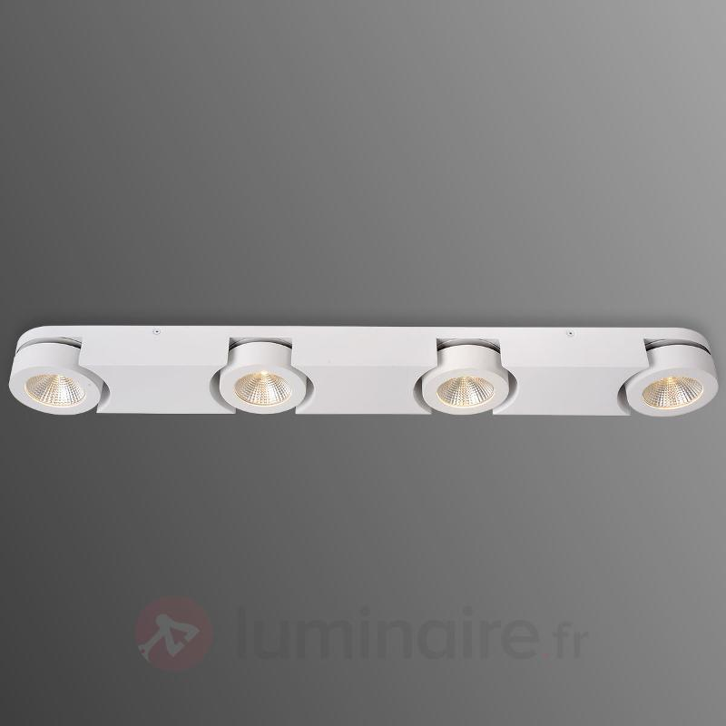 Spot LED Mitrax réglable, à quatre lampes - Spots et projecteurs LED