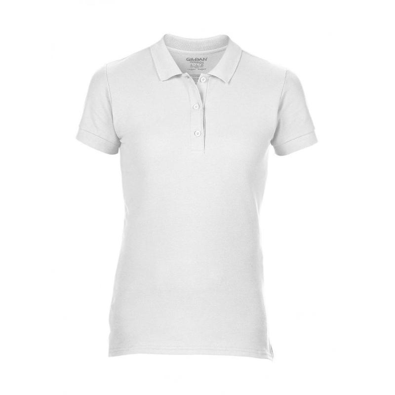 Polo double piqué femme Premium Cotton - Manches courtes