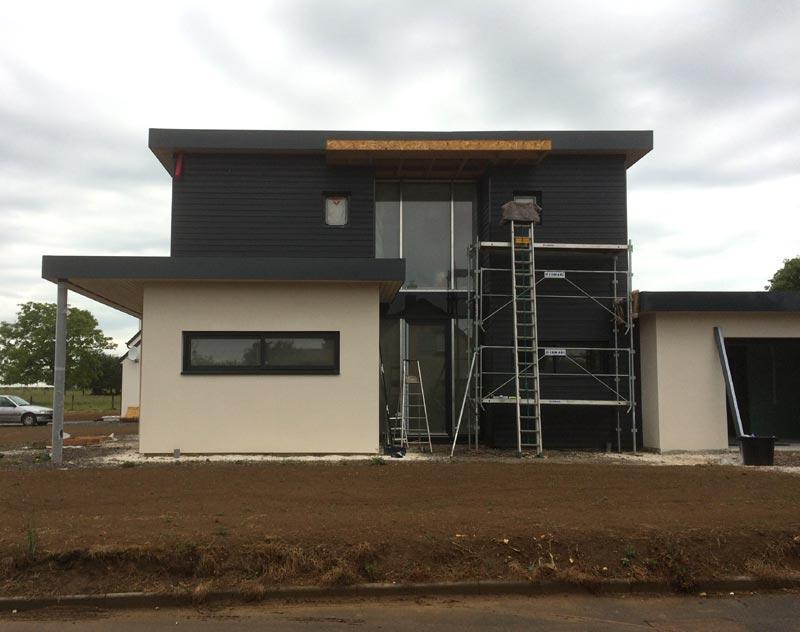 Fenêtre sur-mesure à Caen -  PVC, Aluminium, bois et mixte. Fourniture et installation.