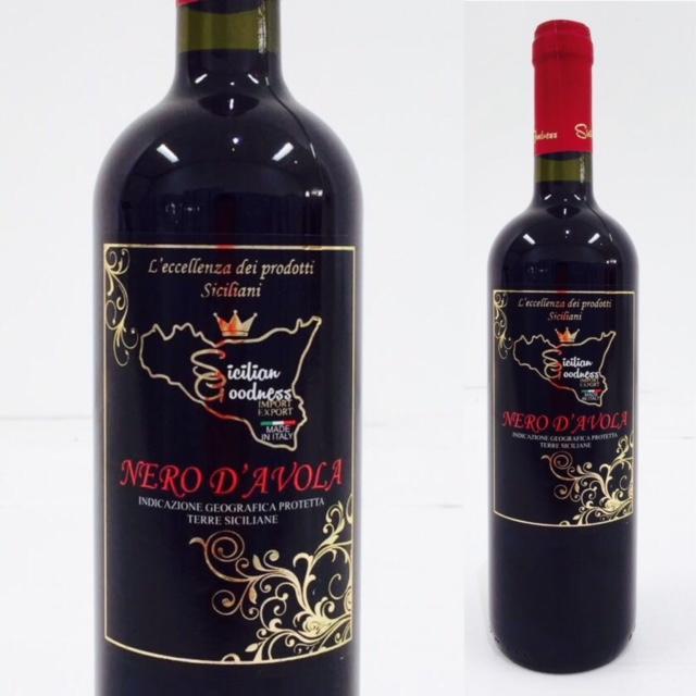 Vino Rosso (Nero d'Avola) - Vini I.G.P. Sicilia