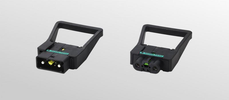 Ladesteckvorrichtungen LV und LV-HPC - hochstromfähige Ladesteckvorrichtungen;  Stromtragfähigkeit n. DIN VDE 0623-589