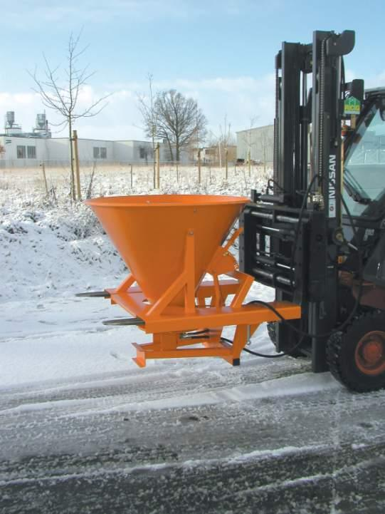 Gritter type SH - Suitable for salt, sand and grit