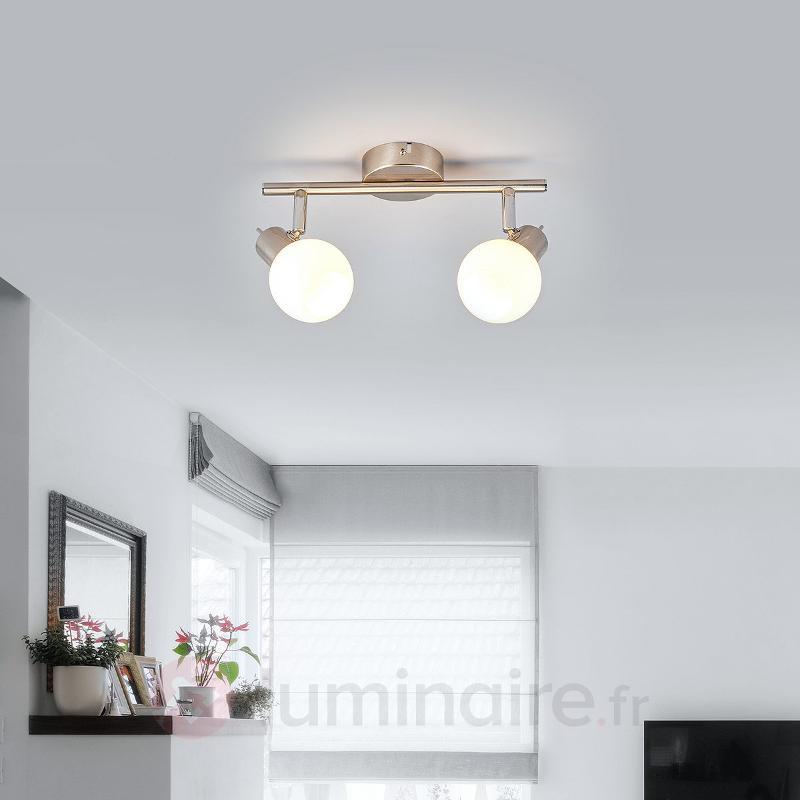 Spot LED Laurence à deux lampes - Spots et projecteurs LED