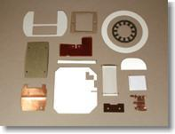 Customized Punched and Moulded Insulation Parts - null
