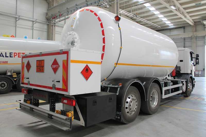 LPG - Bobtail Tank - Bobtail LPG Tank