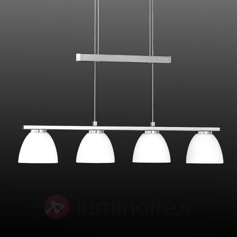 Suspension LED Ava à intensité variable 4 lampes - Suspensions LED