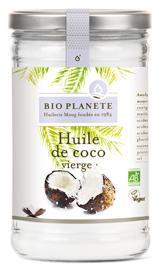 Huile de coco vierge - Epicerie salée