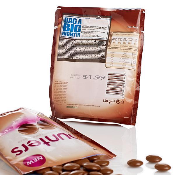 Buste per prodotti dolciari - Tutte le soluzioni per la codifica e marcatura, ispezione e controllo,...