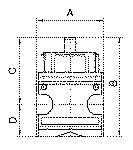 Ball valve 3/2-way multifix , lockable, Size 5, G 1 - Ball valves multifix