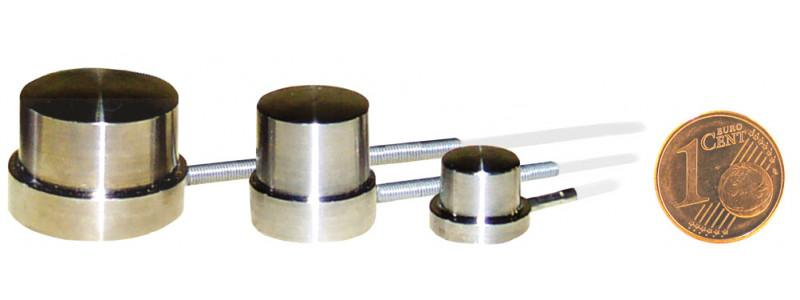 Miniature load cell  - 8402 - Load cell-8402,Compression load cell , button type , miniature , stainless steel