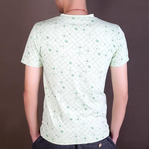 T-shirt pour hommes - Anti-Pilling, Anti-Shrink, Anti-Rides, Respirant, Eco-Friendly, Plus Size