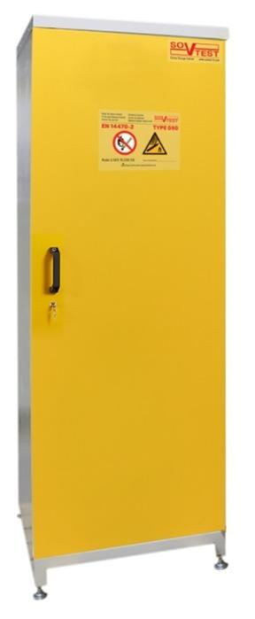 G-Safe Series Safety Storage Cabinets for Gas Cylinders - Type G90 fire resistance according to EN 14470-2