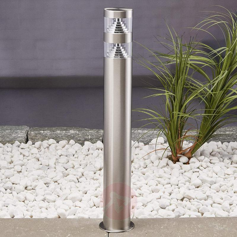 Lanea stainless steel pathway light with LEDs 60cm - Path and Bollard Lights