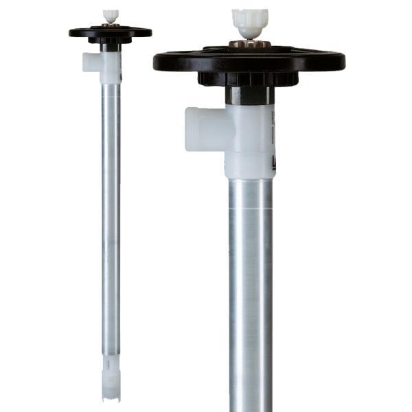 Pump tube Aluminium with impeller - Pump Tubes
