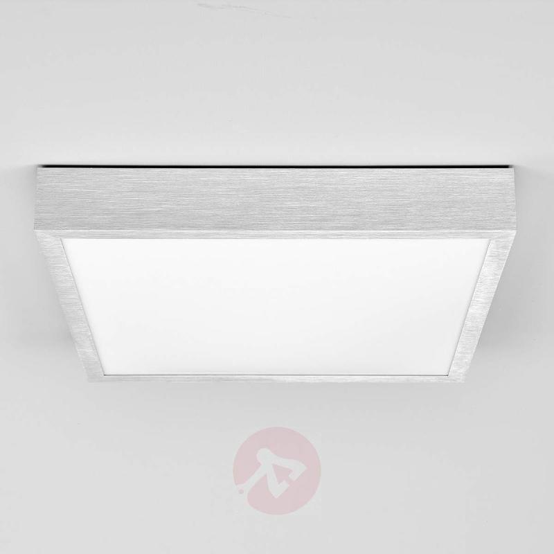 Aluminium ceiling light Finnian with LEDs - Ceiling Lights
