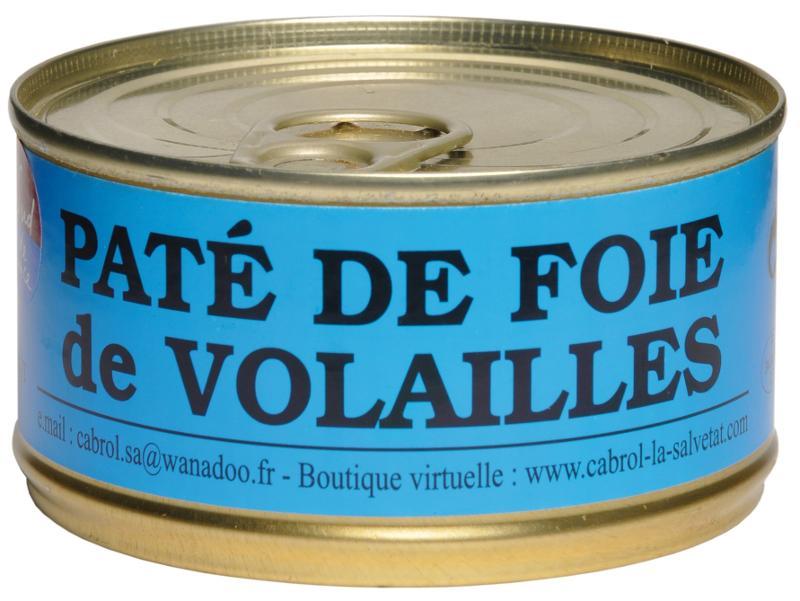 Pâté de Foie de Volaille 180 gr - Epicerie salée