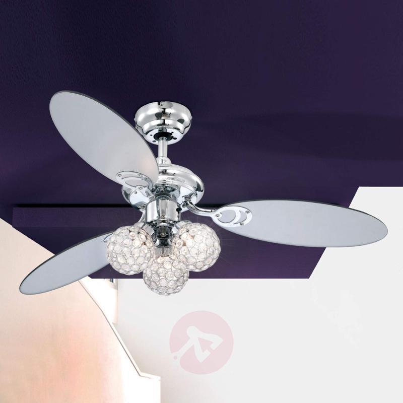 Azalea Ceiling Fan with Lovely Illumination