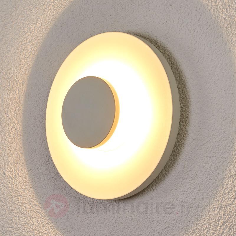 Applique ronde LED Toki pour l'extérieur - Appliques d'extérieur LED