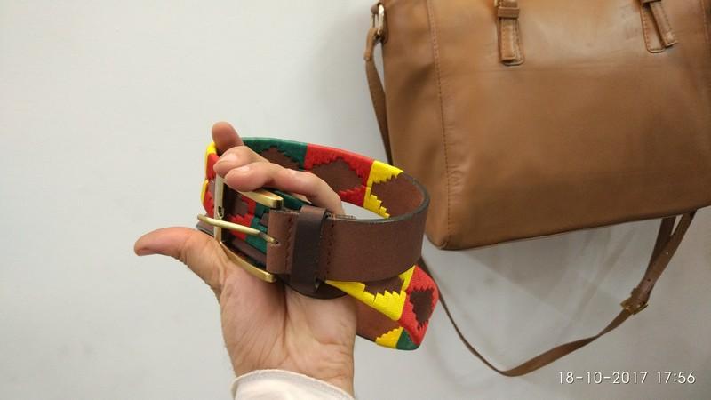 POLO BELTS - Gaucho belt for unisex