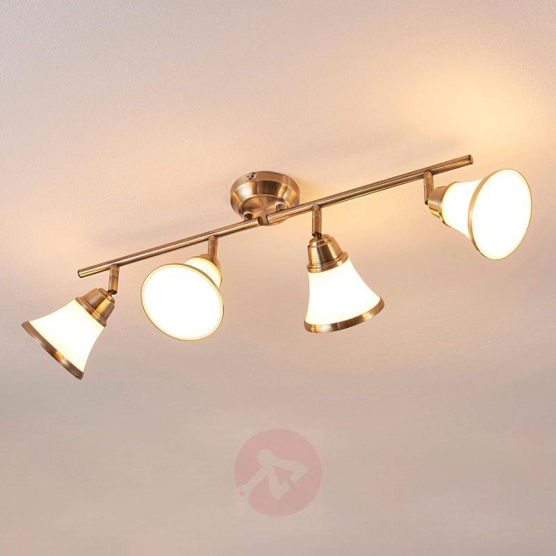 4-bulb ceiling lamp Marita - indoor-lighting