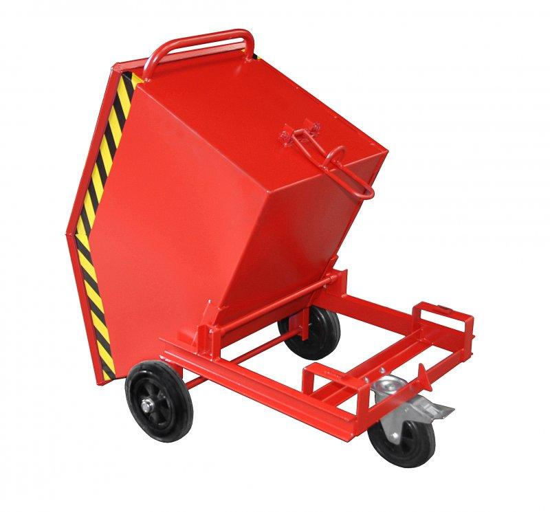 Barrow tipper type KW - Tipper for all kinds of goods, is emptied at the ground level