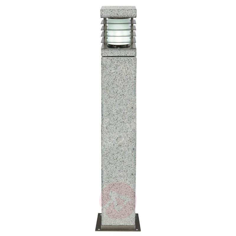La Mer path light made from genuine granite - Path and Bollard Lights