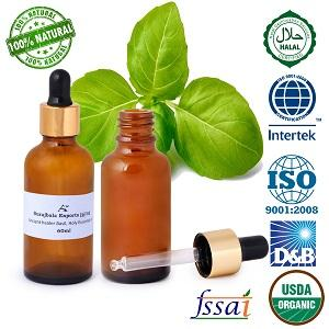 Ancient healer Basil oil 60 ml - Basil oil Basil essential oil