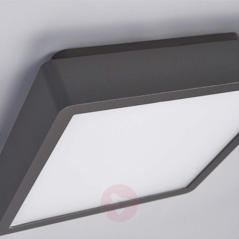 Rectangular LED outdoor ceiling light Talea - outdoor-led-lights