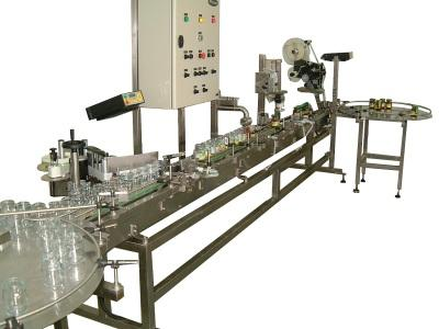 Automatic Jars Filling - Capping and Labeling Line - PYTHON SERIES