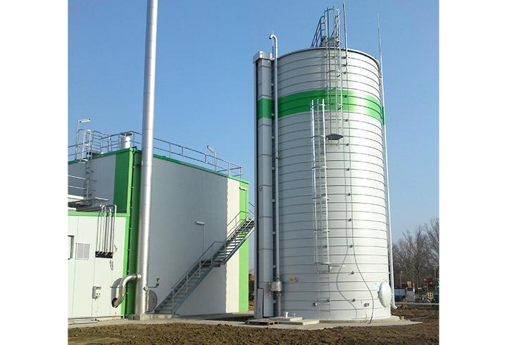 Proven Quality For Non-pressurised Storage Of Dry Gas - LIPP TANKS