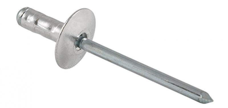 Multigrip Blind Rivet OPTO - Dome-, countersunk- or large dome head, dustproof and splash water-tight