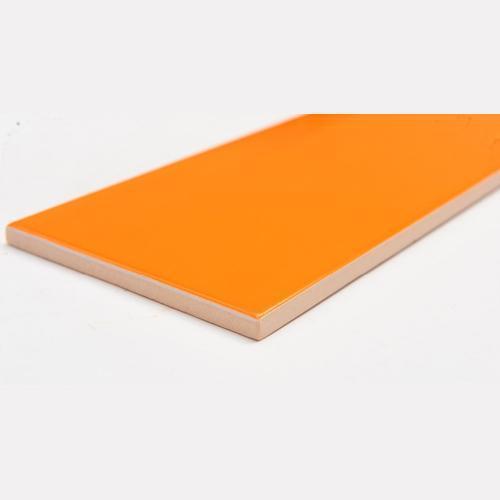 azulejo de la cocina - azulejos de cerámica de azulejos de color naranja cocina de diseño 75x150mm