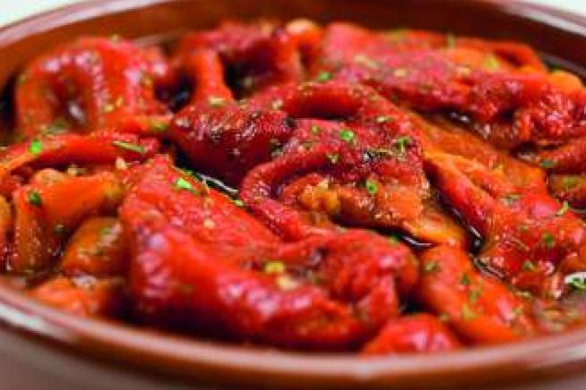 POIVRONS grillés à l?huile d?olive 1800g - Viande et volailles