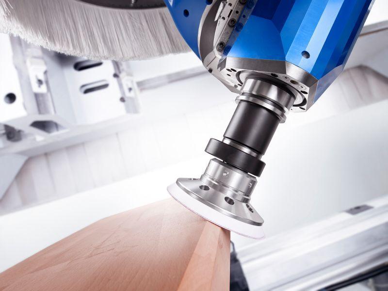 Orbital sanding unit SIMOLO - CNC unit for machining of wood, composites and aluminium