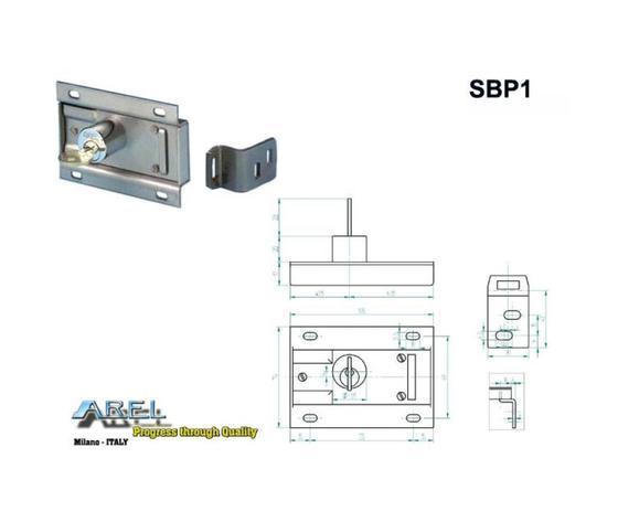 Blocco Porta - Serratura Di Blocco Porta Sbp1