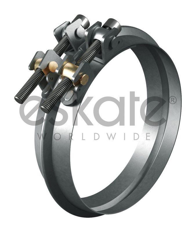 ESKATE® clamping ring for long and spiral pipes - ESKATE® clamping ring for long and spiral pipes