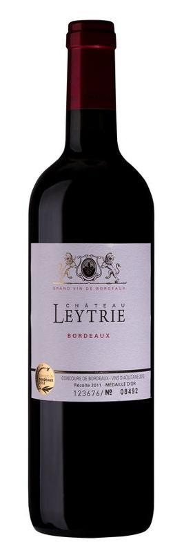 Bordeaux Rouge wine AOC - Château Leytrie