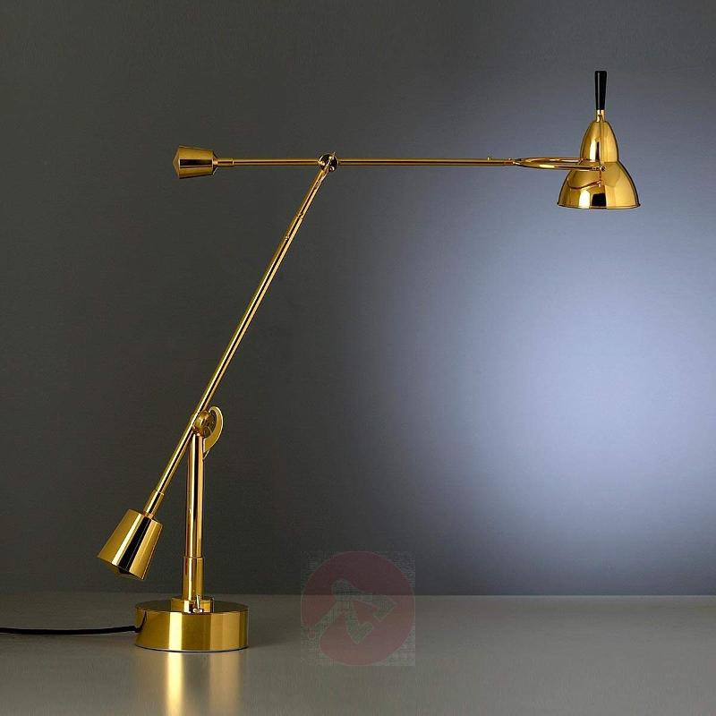 Buquet table lamp, 24 carat gold-plated brass - Table Lamps