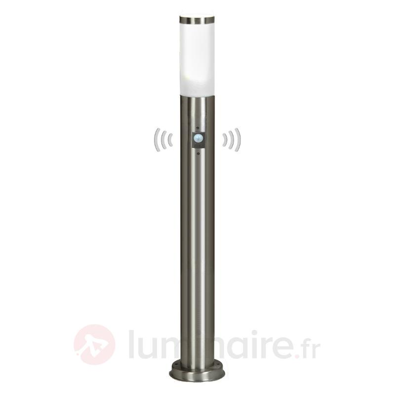Kristof - éclairage pour chemin inox avc détecteur - Bornes lumineuses avec détecteur