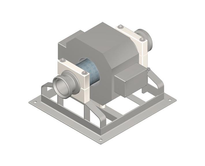 Metalldetektor zum Einbau in Pumpleitungen