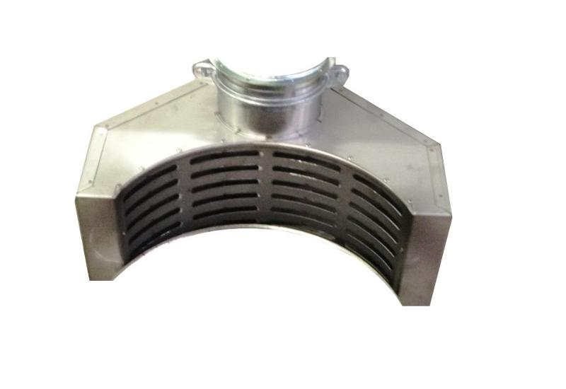 Capteur annulaire - Tuyauterie et composants