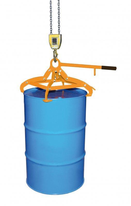 Fassgreifer Typ 4P - Sicheres Handing von Fässern
