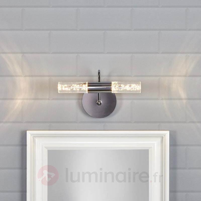 Applique pour miroir LED Duncan au design moderne - Salle de bains et miroirs