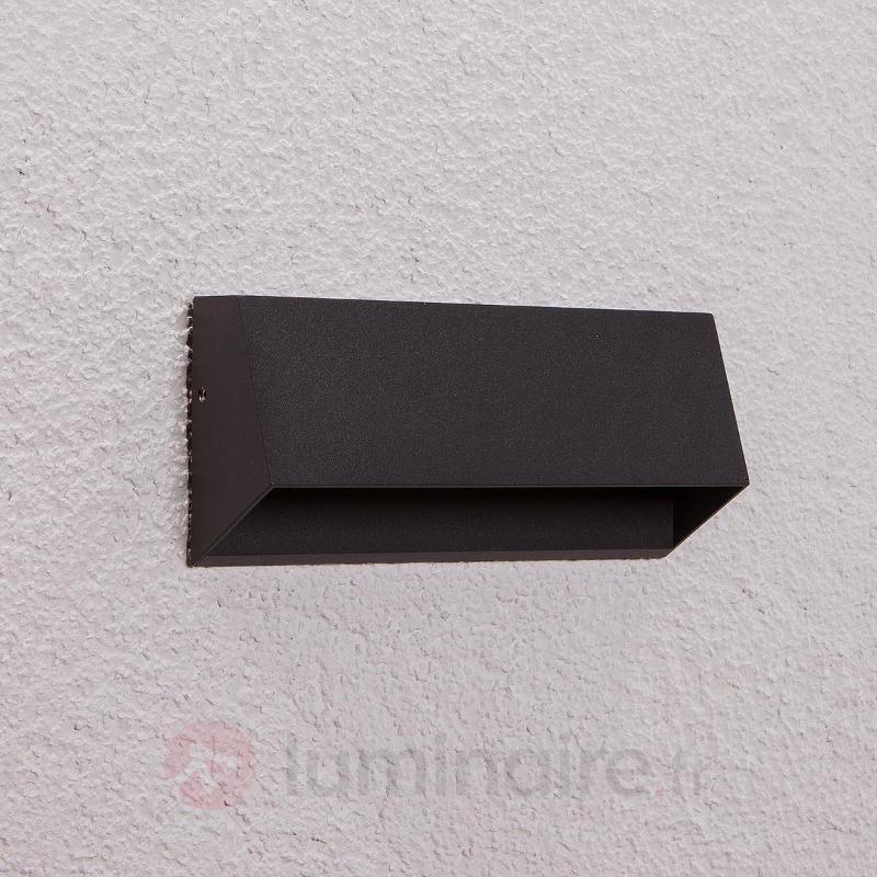 Applique d'extérieur LED à 4 lampes Hanno graphite - Appliques d'extérieur LED